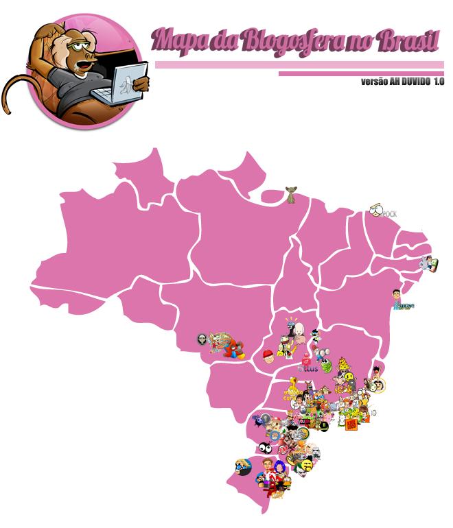 Mapa da Blogosfera 2011