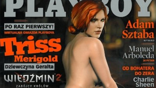 Personagem De The Witcher 2 Posa Nua Para Playboy