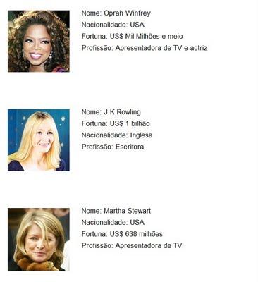 As 10 Mulheres Mais Ricas do Mundo 02
