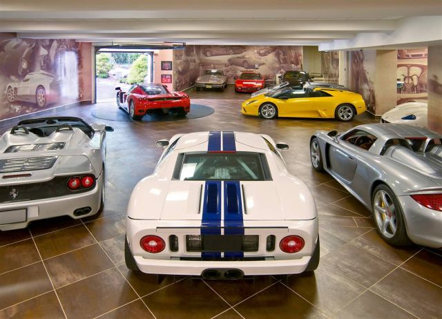 As Garagens Mais Impressionantes do Mundo