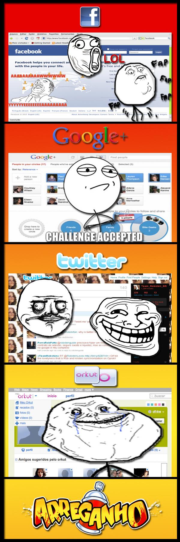 Os memes nas suas redes sociais…