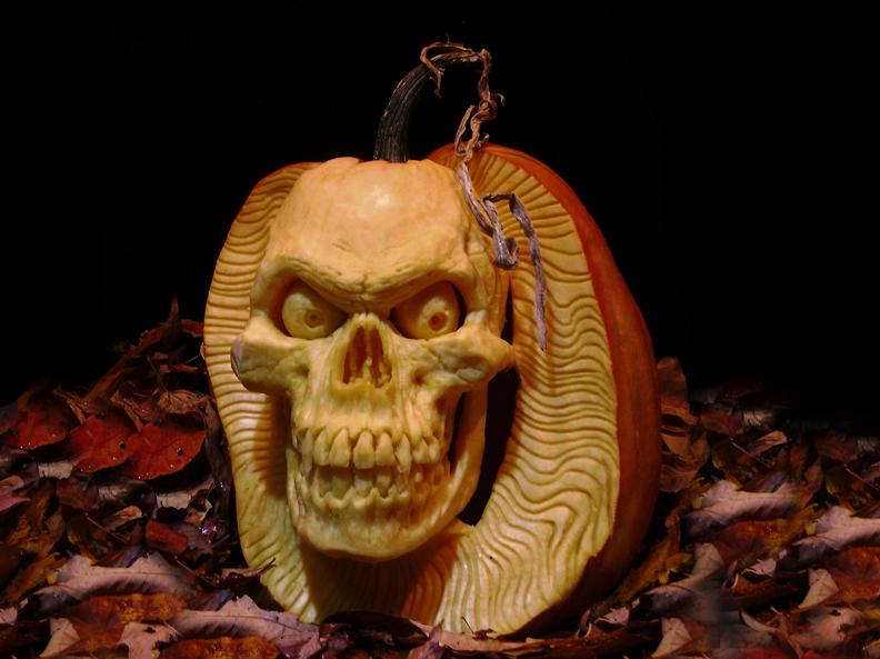Artista Cria Esculturas Para O Halloween Feitas Com Abóboras