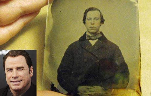 Encontrada Uma Foto De 1860 Que Lembra O Ator John Travolta