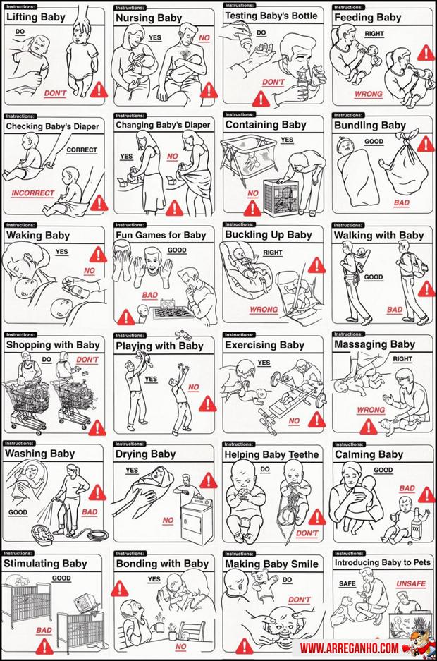 Como cuidar de bebes!