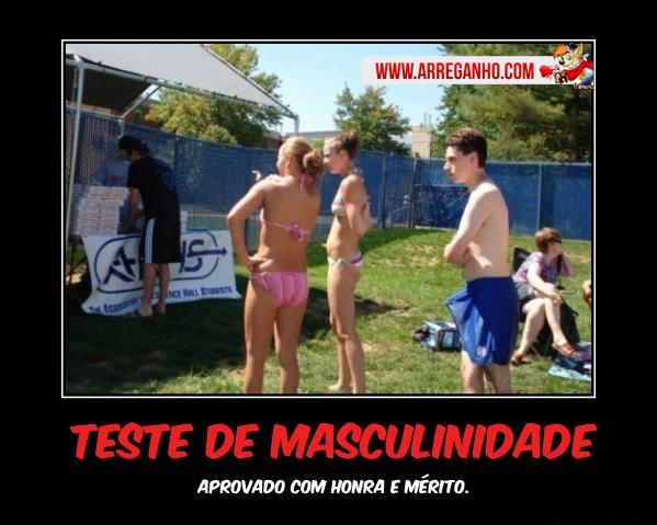 Teste de Masculinidade