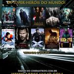 Os 10 Melhores filmes de Super Heróis do Mundo!