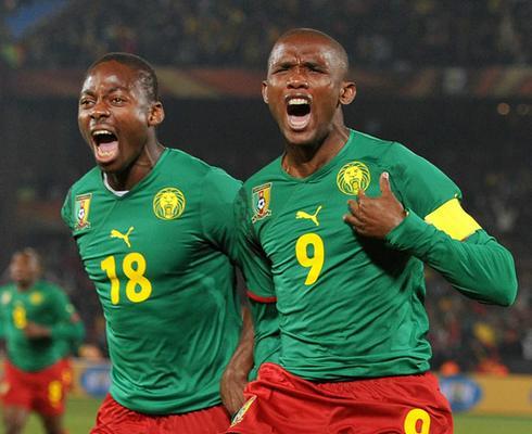 Favoritos Para o Campeonato Mundial - Samuel Etoo dos Camarões