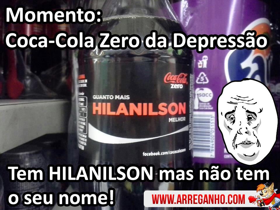 Coca-Cola Zero, tem Todos, Menos o Seu