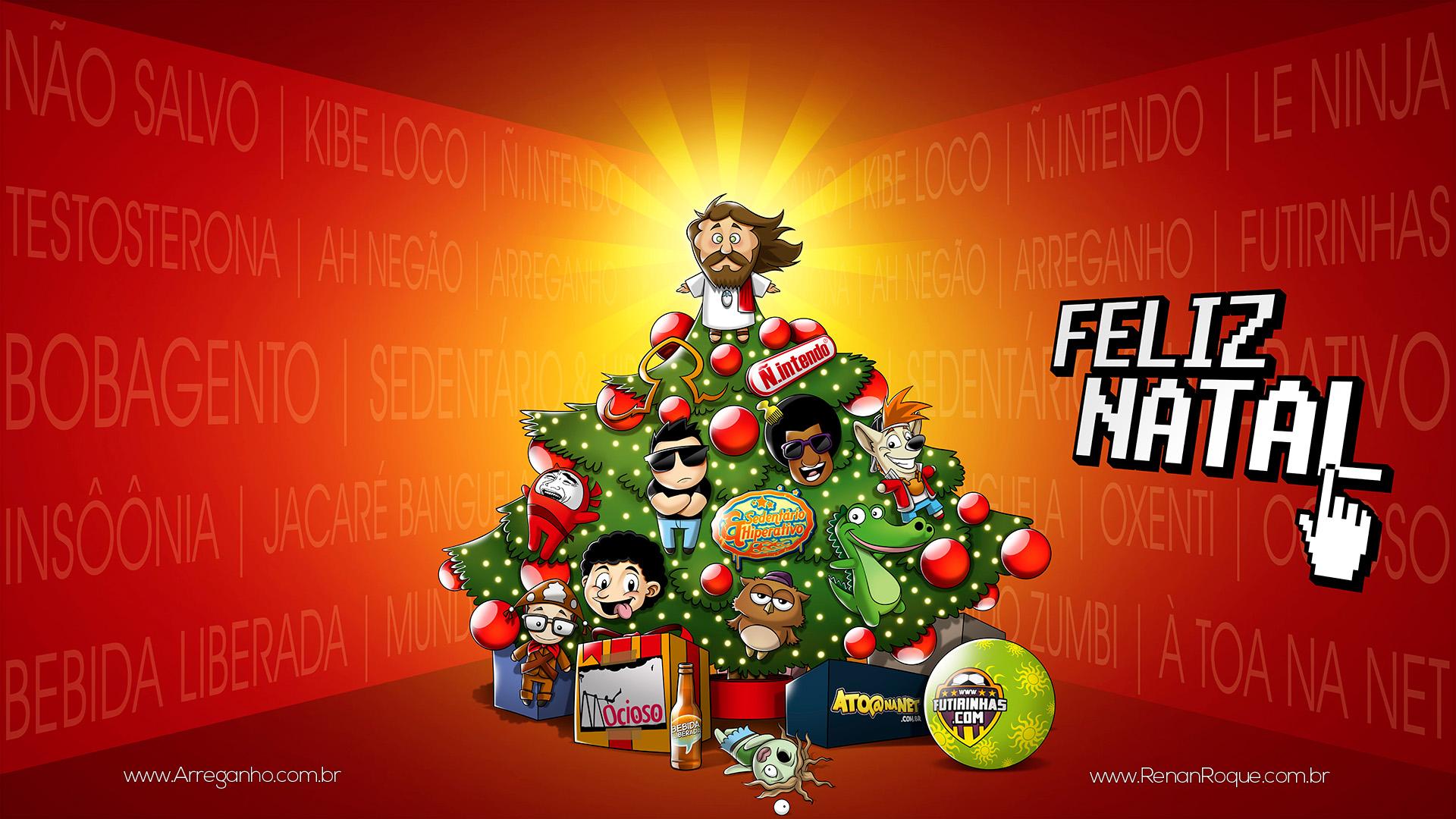 Feliz Natal - Árvore da Blogosfera