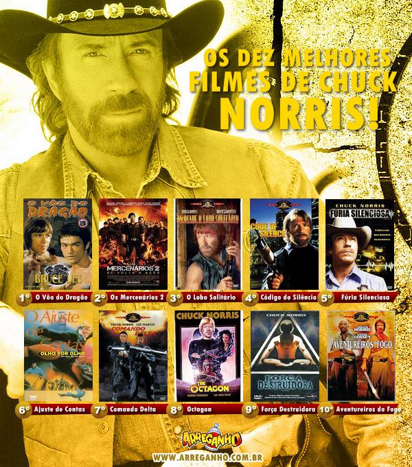 Os 10 Melhores Filmes de Chuck Norris!