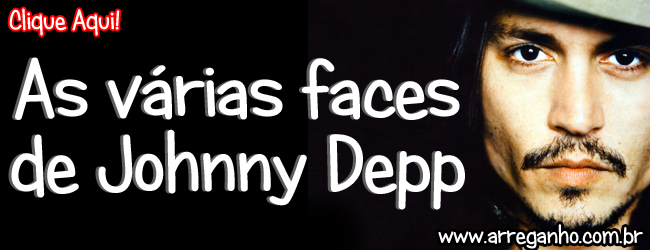 As vrias faces de Johnny Depp