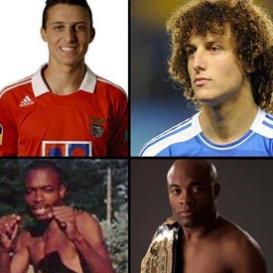 Atletas antes e depois da fama