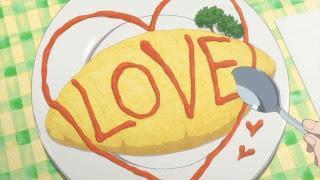 Omurice (omelete com arroz)