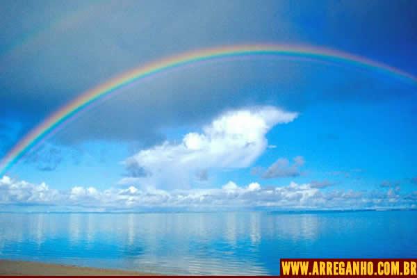 Como se forma o arco íris?