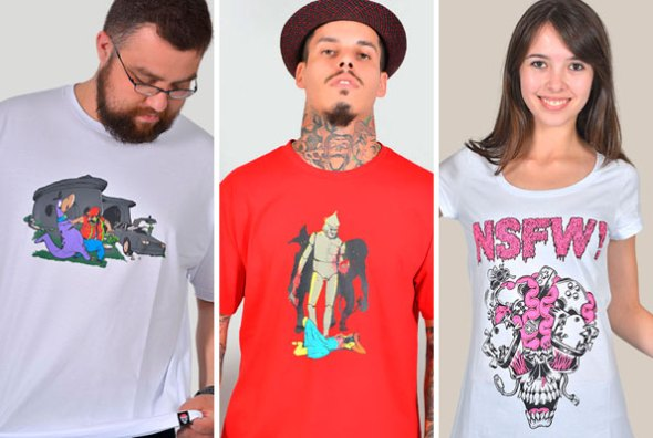 NSFW! As Camisetas mais Nerds da Internet