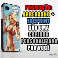 Promoção: Ganhe uma capinha personalizada da ZocPrint para o seu celular