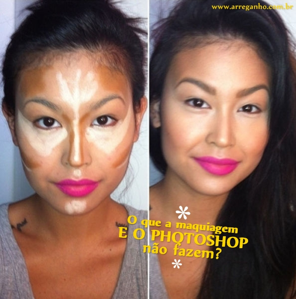O que a maquiagem e o photoshop não fazem?