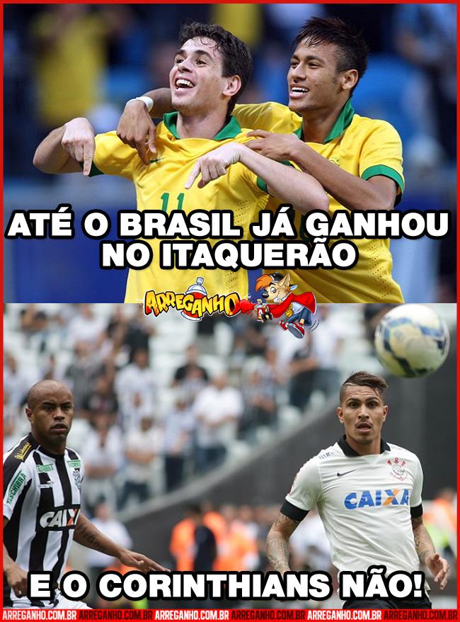 Até o Brasil já ganhou e o Corinthians não