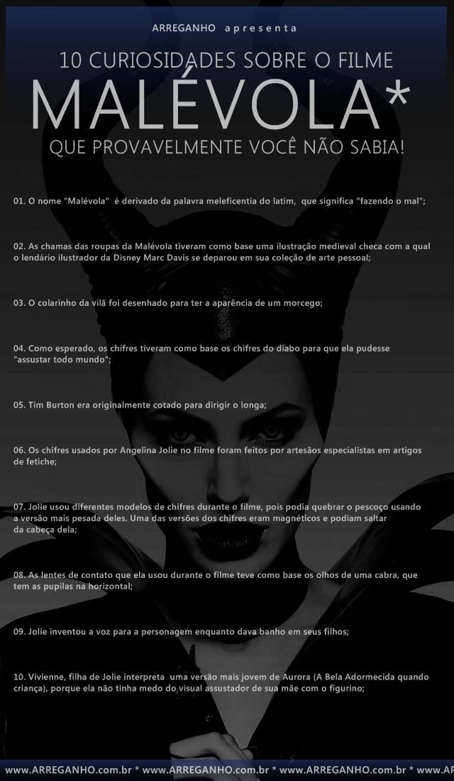 10 Curiosidades sobre o filme Malévola que provavelmente você não sabia!