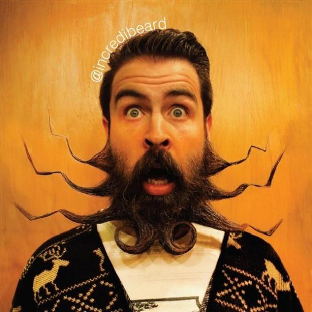 10 Utilidades inimagináveis da sua barba!