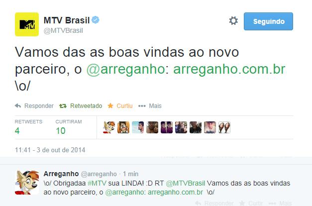 Arreganho + MTV