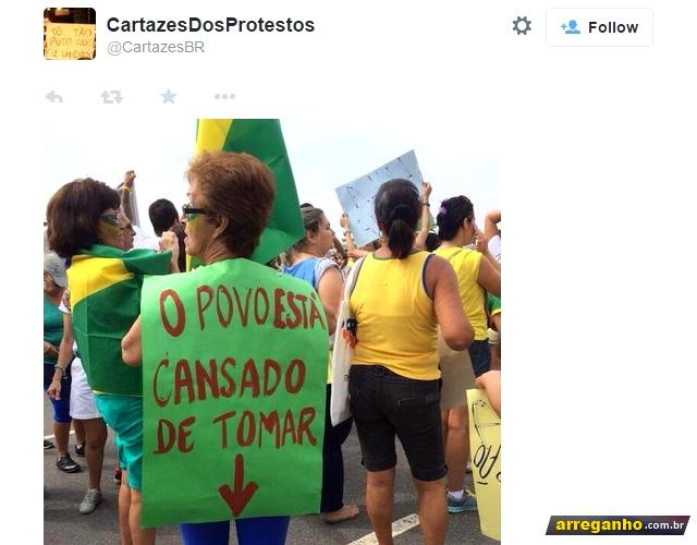 Os 9 melhores memes das manifestações (Segundo a PM)