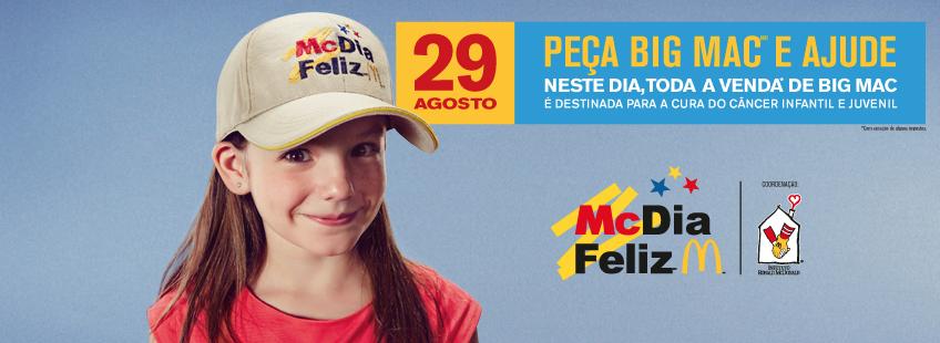 #McDiaFeliz 2015, transforme Big Mac em sorrisos