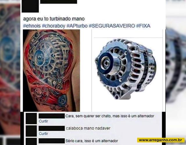 Antes de fazer uma tatuagem, sempre pesquise…