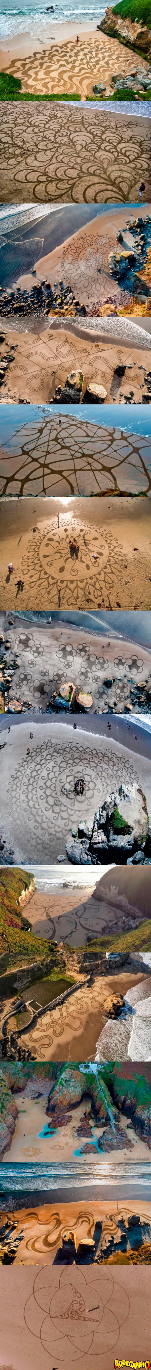 arte-na-areia andres amador