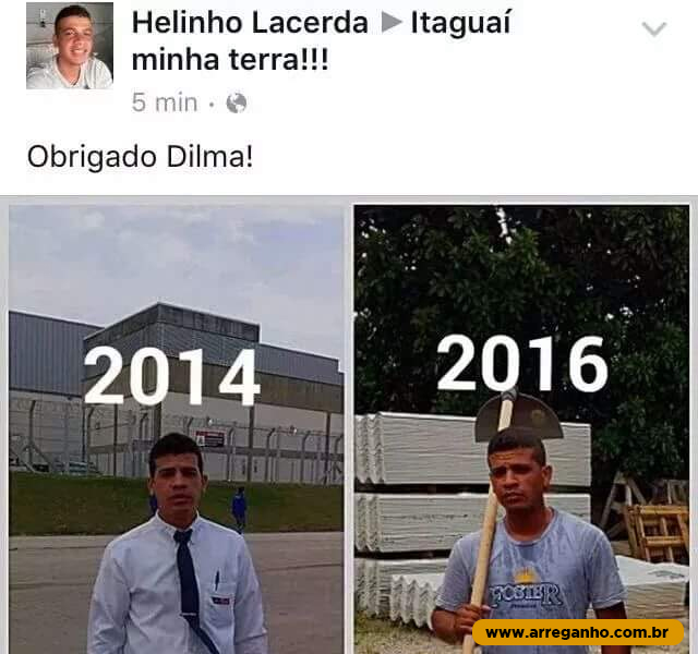 Obrigado Dilma