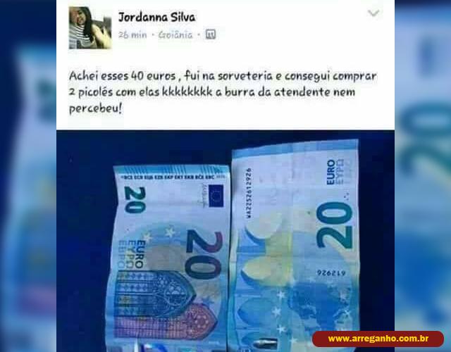 Achei 40 euros