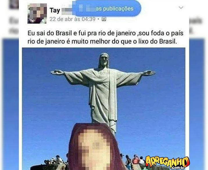 Cansei do Brasil, vou pro Rio