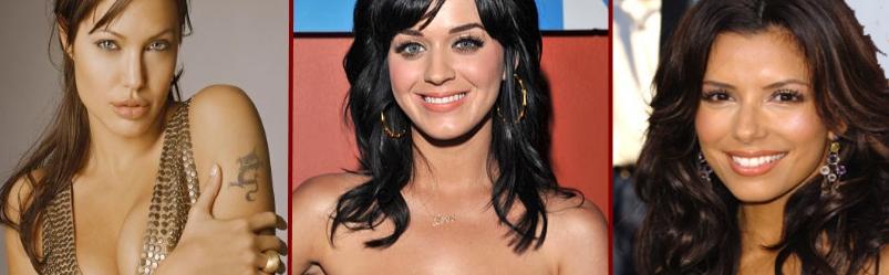 As 10 Celebridades Internacionais Mais Estranhas Sem Maquiagem