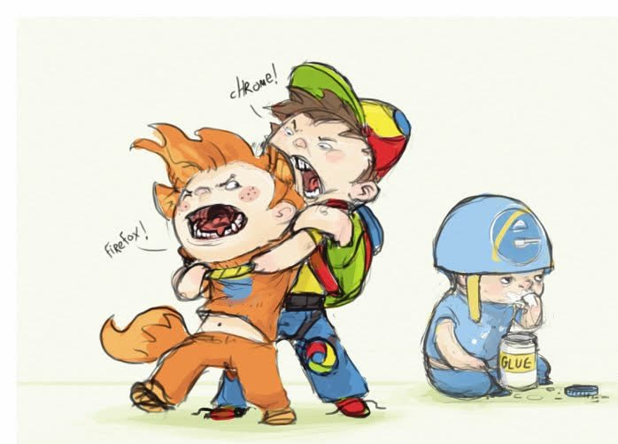 Briga Entre Chrome, Firefox e Explorer, Quem Leva a Melhor?