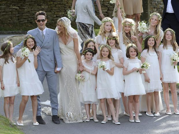 O Polêmico Casamento de Kate Moss