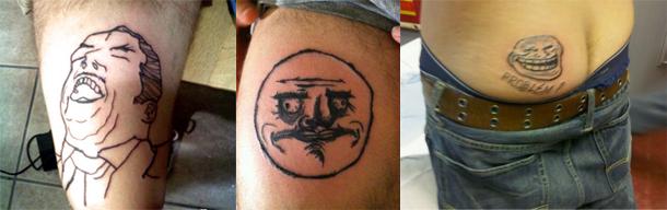 10 Tatuagens Engraçadas de Memes 06