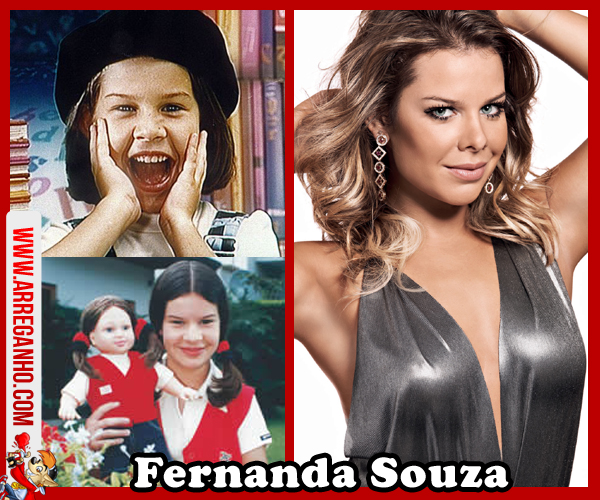Top 10: Celebridades que vimos Crescer Dentro da Telinha - Fernanda Souza