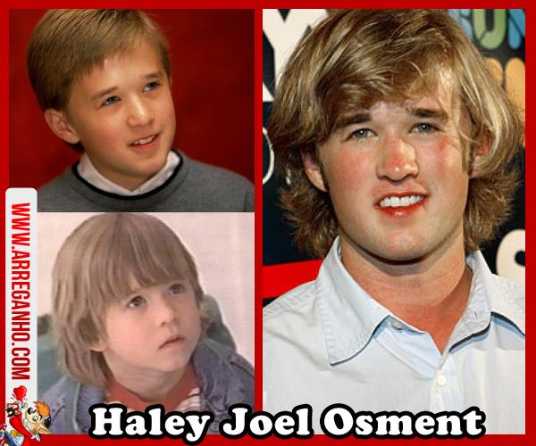Top 10: Celebridades que vimos Crescer Dentro da Telinha - Haley Joel Osment