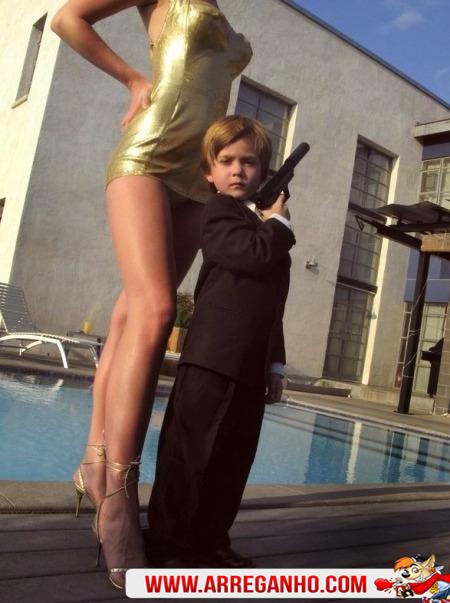 Mini James Bond