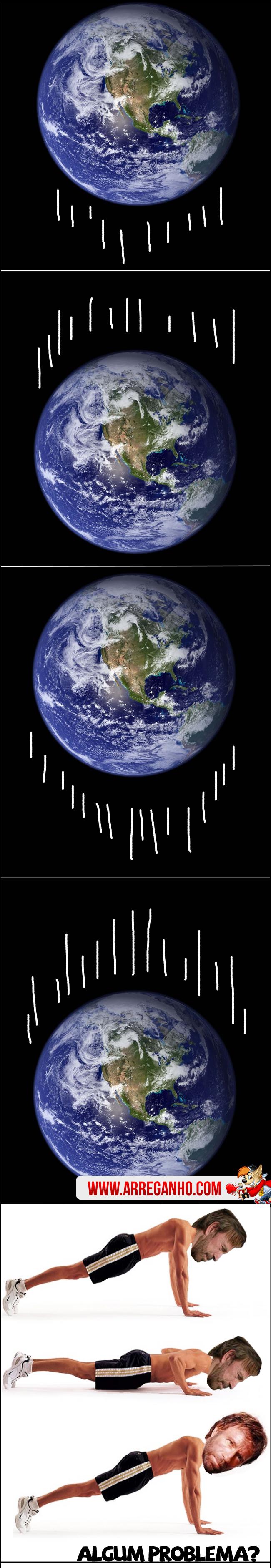 O que está Acontecendo com a Terra Chuck Norris