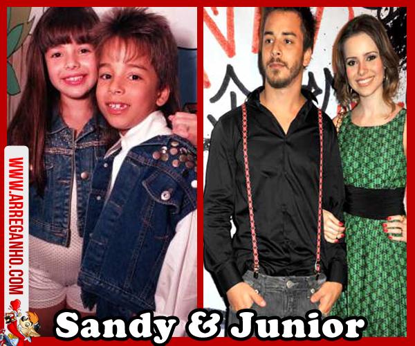 Top 10: Celebridades que vimos Crescer Dentro da Telinha - Sandy e Junior