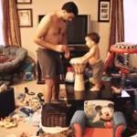 O que Pai e Filho fazem quando a Mãe não está em casa?