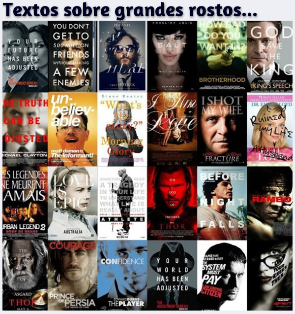 Top 12: Maiores Clichês em Cartazes de Filmes 07