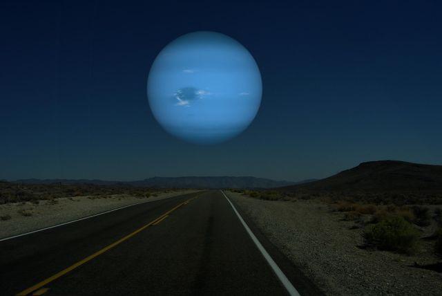 O que acontece quando trocamos a Lua por planetas