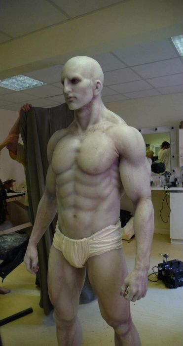 A incrível montagem de um traje do filme Prometheus