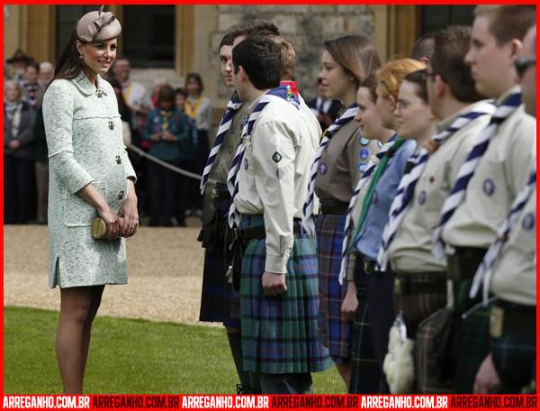 Top 10: Celebridades que Serão Mamães - Kate Middleton