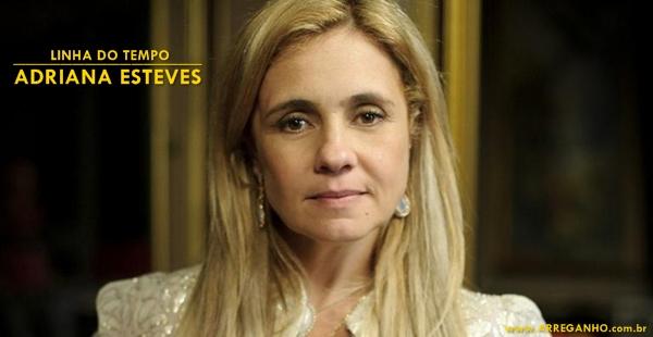 Antes e depois – Adriana Esteves