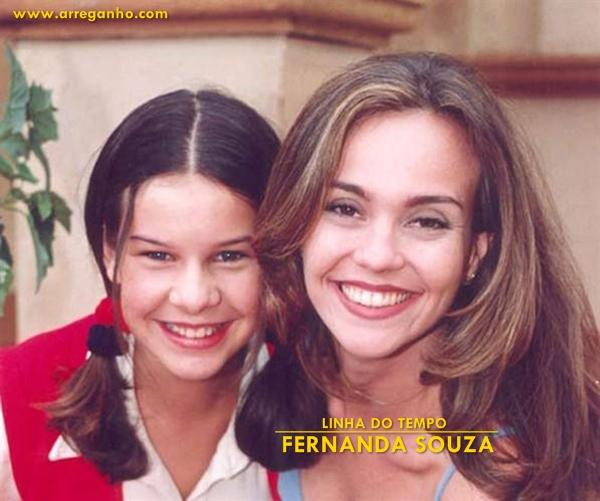 Antes e Depois: Fernanda Souza