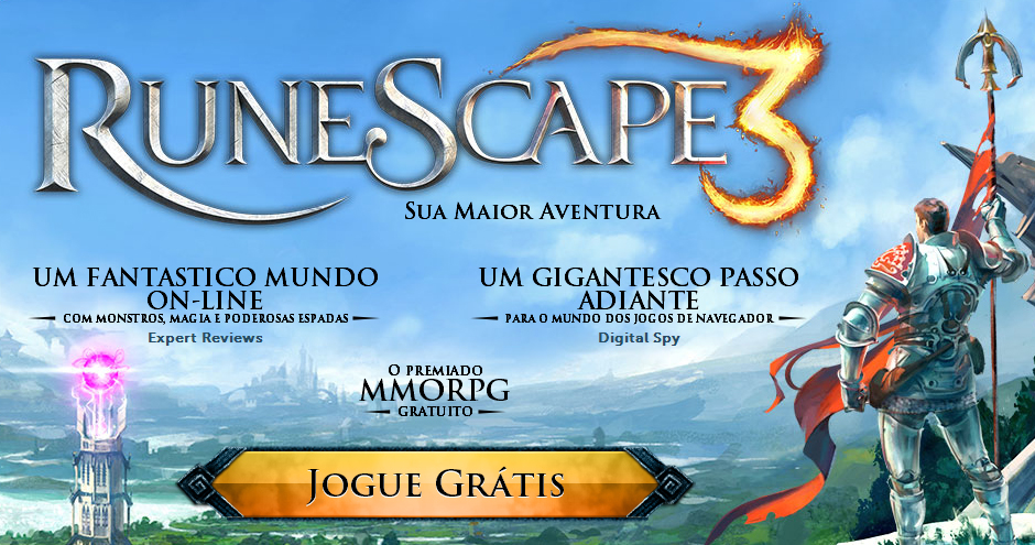RPG Online com mais de 200 milhões de fãs no mundo, chega ao Brasil em Português, e pode ser jogado gratuitamente