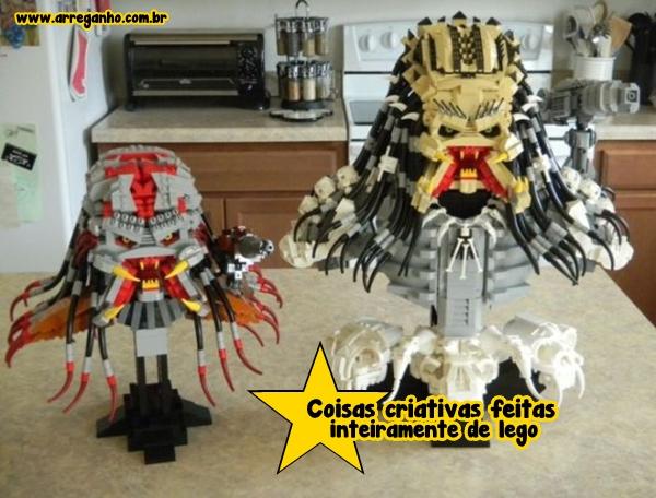 Coisas criativas feitas inteiramente de Lego!